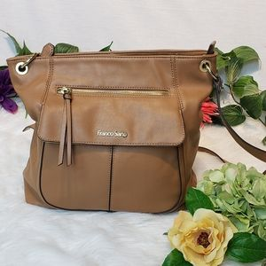 Franco Sarto faux leather shoulder bag